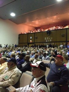 Citizens stormed a 2013 public hearing to voice their opposition to the Comprehensive Plan.